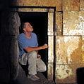 Boaz zissu at herod's family tomb-jerusalem 2009.jpg