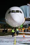 Boeing 787 Dreamliner at Riga Airport (32457154116).jpg