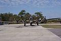 Boeing B-17G-85-DL Flying Fortress Nine-O-Nine Landing Taxi 29 CFatKAM 09Feb2011 (14797319118).jpg