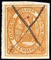 Bolivia 1867-68 Sc5 used pen cancel.jpg