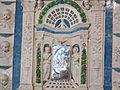 Bolsena, s. cristina, chiesa maggiore, int., ciborio di benedetto buglioni 07.JPG