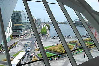 Bord Gáis Energy Theatre - View out from inside the theatre