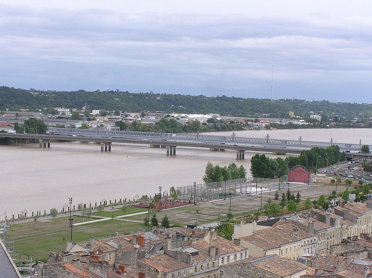 Pont saint jean bordeaux wikip dia - Pont ferroviaire de bordeaux ...