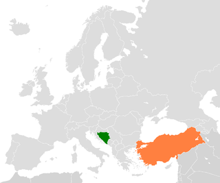 Diplomatic relations between Bosnia and Herzegovina and the Republic of Turkey