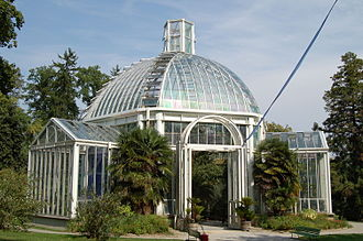 Conservatory and Botanical Garden of the City of Geneva - Image: Botanical Garden Geneva 2006 804