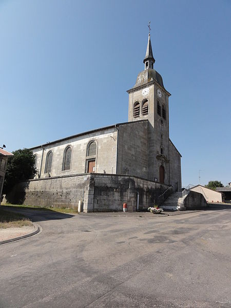 Bouquemont (Meuse) église