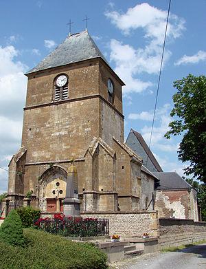 Bourcq - Image: Bourcq Eglise 01