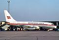 Braathens S.A.F.E. Boeing 737-205C; LN-SUA@CPH, September 1971 (5883721657).jpg