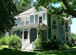 National Register of Historic Places listings in Adams County, Nebraska - Image: Brach House (Hastings, Nebraska) from NE