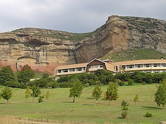 Golden Gate Highlands National Park - Golden Gate Hotel in the Golden Gate Highlands National Park