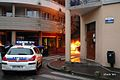 Braquage d'une banque avec voiture bélier à st denis 2010 (photo Shuck2 graffiti ).jpg