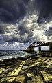 Breakwater Bridge, Valletta Malta.jpg