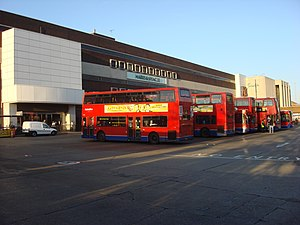 Brent Cross bus station - Image: Brent Cross Bus Station 2