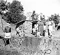 Brickmakers family, Satbarwa, India, 1962 (16946486305).jpg
