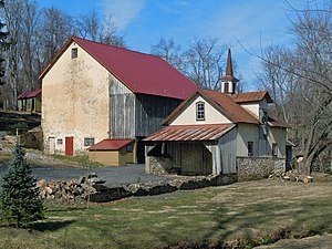National Register of Historic Places listings in northern Chester County, Pennsylvania - Image: Bridge Mill Farm