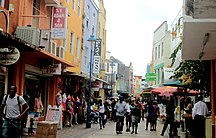 巴巴多斯-经济-Bridgetown - Shopping Street