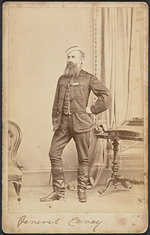 George Jackson Carey - Brigadier-General Carey about 1860