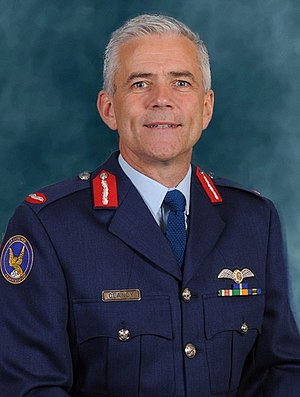 Irish Air Corps - General Officer Commanding the Air Corps Brigadier General Seán Clancy