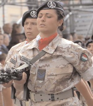 Soldiers of the Sassari Brigade. Downloaded fr...