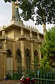 Brighton - Palace Place - View NW on Royal Pavilion 1823 John Nash II.jpg