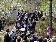 British veterans march by Seolmacheon