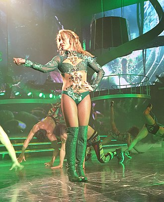 "...Baby One More Time (album) - Spears performing ""(You Drive Me) Crazy"" at her Las Vegas residency show, Britney: Piece of Me, on February, 2016."