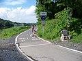 Brnky, stezka podél Vltavy, pod Čimickým údolím.jpg