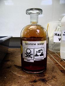 bromine water wikipedia