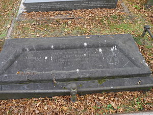 Claude Buckle (Royal Navy officer, born 1803) - Brompton Cemetery monument