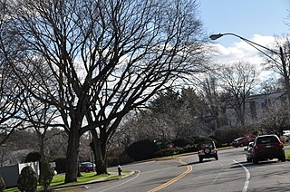 West Roxbury Parkway Parkway in Boston, Massachusetts