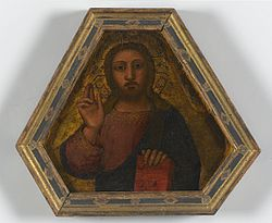 Nardo di Cione: Christ Blessing
