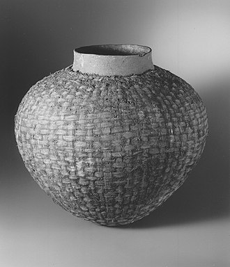 Tsonga people - Tsonga globular pot, collected c. 1900