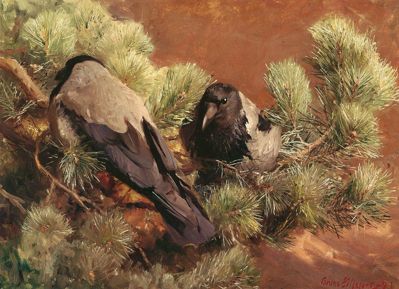 Famous Grouse Painting R Mc Phail