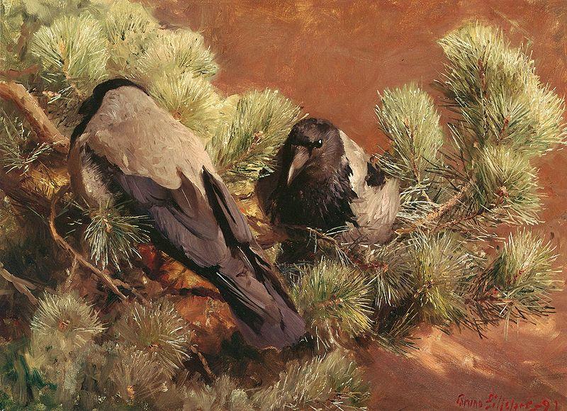 File:Bruno Liljefors - Hooded Crows.jpg