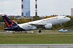 Brussels Airlines, OO-SSO, Airbus A319-111 (37009327753).jpg