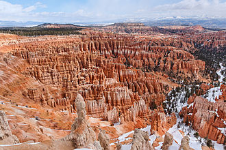Bryce Canyon National Park - Image: Bryce Canyon Amphiteatre 1