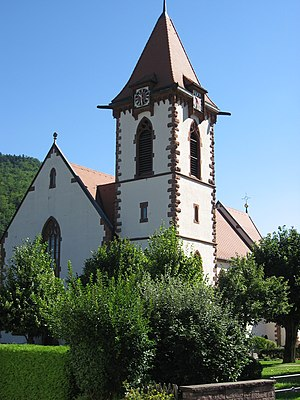 Buchenbach parish church