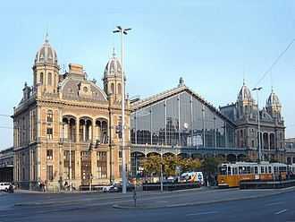 Hungarian State Railways - Western Railway Station in Budapest.