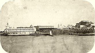 Uruguayan War - Buenos Aires, capital of Argentina, 1864