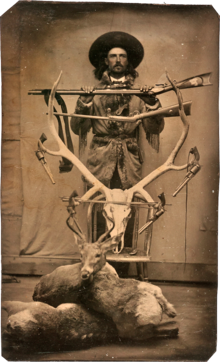Buffalo bill cody resource learn about share and discuss buffalo a young buffalo bill in 1871 fandeluxe Image collections