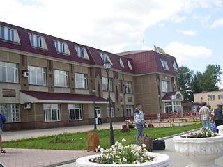 Bugulma Town in Tatarstan, Russia