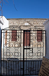 Building near church in Lindos, Rhodes.jpg