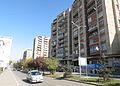 Buildings in Agim Ramadani Street, Pristina, 2012 1.jpg