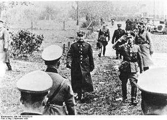 Tadeusz Kutrzeba - General Kutrzeba shortly before signing the capitulation of Warsaw in 1939
