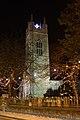 Bungay St Mary's Church tower at night - geograph.org.uk - 2720065.jpg