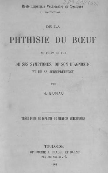 File:Burau - De la phthisie du boeuf.djvu