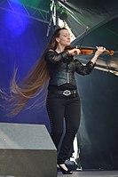 Burgfolk Festival 2013 - Ally the Fiddle 06.jpg