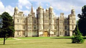 Soke of Peterborough - Burghley House (1555–1587), seat of the Marquesses of Exeter.