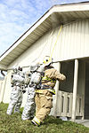 Burn, baby, burn, Fire fighters train in Pine Grove 140210-M-NT332-026.jpg