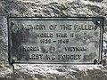 Burnside War Memorial plaque.JPG
